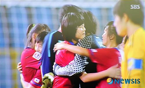 U-17 여자월드컵 결승전 대한민국 우승 시상식_ 1