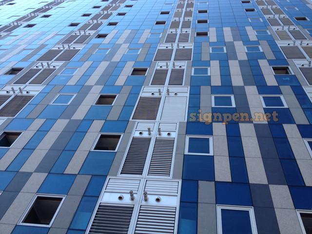 건물의 타일 패턴_ 1
