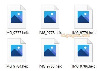 윈도우 탐색기에서 HEIC