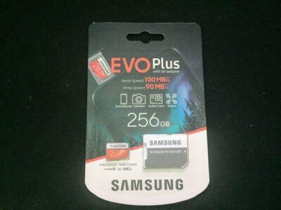 닌텐도 스위치 마이크로SD 카드 비교 구입기(삼성 EVO Plus 256GB)_ 2