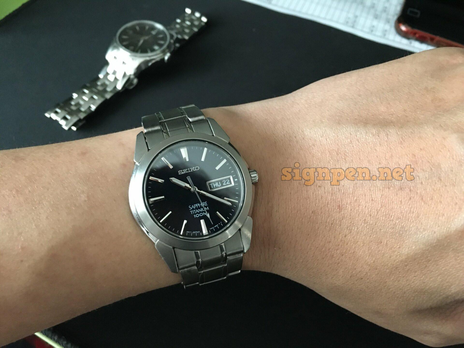 세이코 티타늄 쿼츠 시계(SGG729) 배터리 자가교체_ 6
