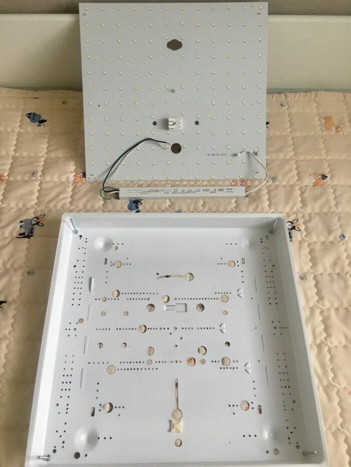 사용하던 LED 모듈 분리