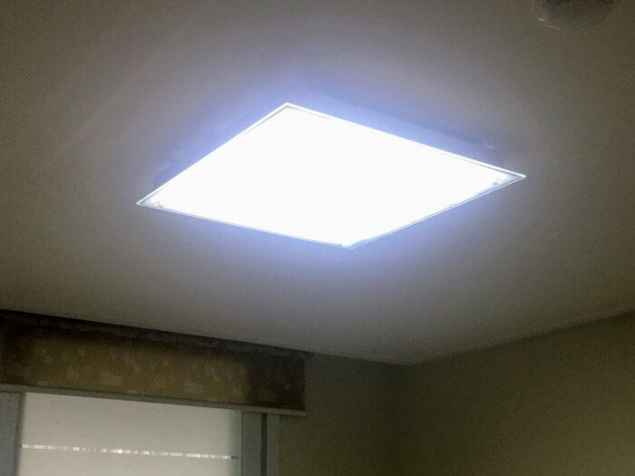 LED 모듈 교체 완료